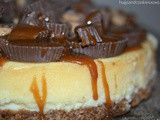 Reese's Salted Caramel Cheesecake