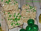 Rice Krispy Treats For St. Patrick's Day