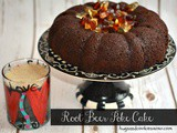 Root Beer Poke Cake With Root Beer Glaze