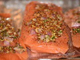 Salmon With Shallots and Mustard
