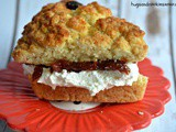 Scones With Cream and Jelly