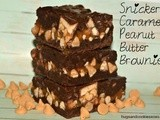 Snickers Caramel Peanut Butter Brownies