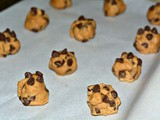 Soft & thick malted chocolate chip cookies