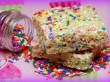 sprinkle-icious  rice krispy treats