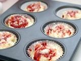 Strawberry cream cheese jam muffins