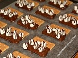 Toffee & s'mores Chocolate Graham Crackers