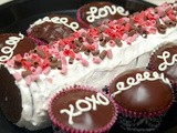 Valentine's ice box cake