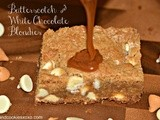 White Chocolate Butterscotch Blondies-yummy