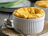 Bacon and Corn Souffle  #BrunchWeek