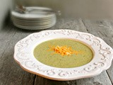 Creamy Broccoli & Cheese Soup