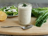 Creamy Lemon Dill Dressing From a Barking Dog