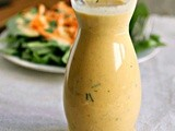 Creamy Roasted Heirloom Tomato Dressing