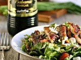 Grilled Chicken Salad with Creamy Greek Style Vinaigrette #DressingItUp