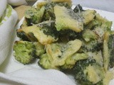 Healthy Batter  Fried  Broccoli