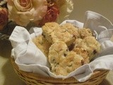 Heart Shaped Chocolate Chip Scones