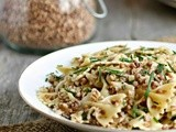 Kasha Varnishkes (Farfalle Pasta with Buckwheat)