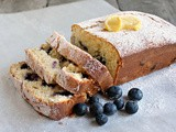 Lemon Blueberry Ricotta Bread