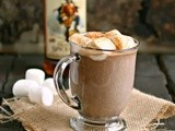 Sweet, Spiked and Spicy Hot Chocolate #CaptainsTable