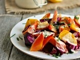 The Tao of Tahini...with Roasted Beets
