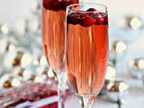 Thirsty Thursdays: Sparkling Apple and Cranberry Champagne Cocktail