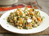 Wheatberry, Wild Rice & Butternut Squash Salad