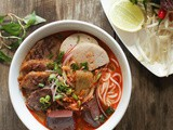 Bún Bò Huế Recipe – Spicy Beef & Pork Noodle Soup