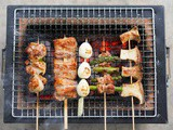 Yakitori Recipe (Japanese Char-Grilled Chicken w/ Sauce)