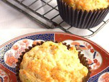 Amarillo Chilli and Cheddar Courgette Muffins