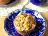 Chocolate Chip Iced Latte Crumble Muffins