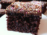 Easy Party Chocolate Traybake