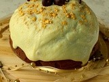Mincemeat Christmas Pudding Cake