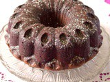 Nutella Chocolate Milkshake Bundt Cake