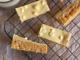 Peanut Butter and White Chocolate Rice Krispie Treats