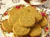 White Chocolate Green Tea Shortbread Cookies and Teavivre Review