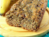 Wholemeal Chocolate Chunk Roasted Banana Bread