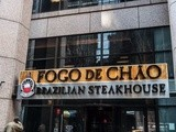 Churrasco at Fogo De Chao Brazilian steakhouse in nyc, New York
