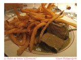 Incredible steak frites at Le Relais De Venise  l'Entrecote  in New York