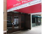 Korean food at Korea Palace in nyc, New York