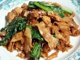 Aff Thailand - Thai Fried Rice Noodles with Soy (Phat Si Ew)