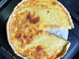 Bacon Onion & Cheese Quiche