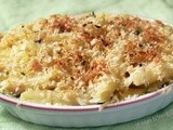Bacon & Peas Mac 'n Cheese (Curtis Stone)
