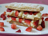Bake Along #73 Strawberry Mille-Feuille