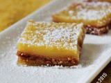 Bake Along #82 Healthier Lemon Bars