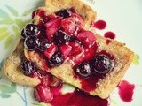 Cinnamon French Toast With Berry Sauce (Curtis Stone)