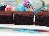 Crazy Chocolate Cake With Dark Chocolate Frosting