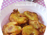 Crispy Banana Fritters with Spicy Soy Dipping Sauce