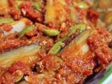Eggplant With Petai In Chilli Sauce