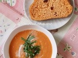 Fresh Tomato Soup with Basil (Delia Smith)