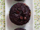 Moist Double Chocolate Muffins