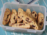 Orange Almond Dates Biscotti